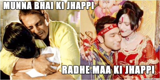 Radhe Maa Jokes with Picture