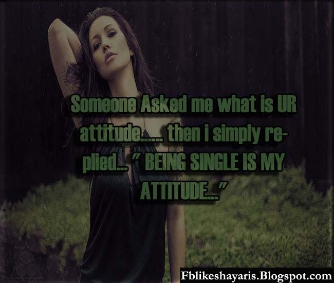 Someone Asked me what is UR attitude…... then i simply replied...