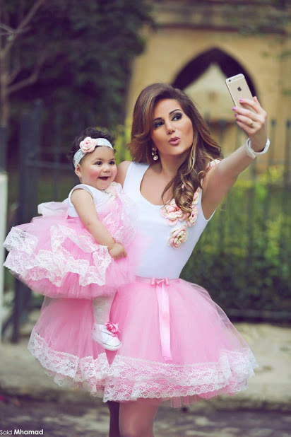 Most Beautiful Small Baby With Her Mother Selfie Pics
