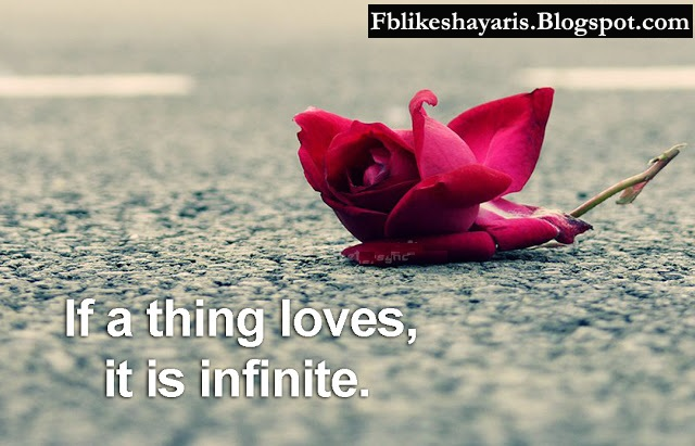 If a thing loves