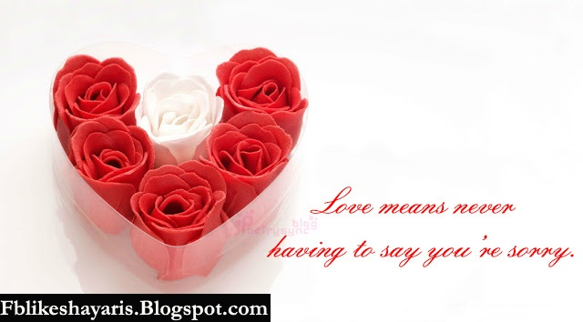 Love means never