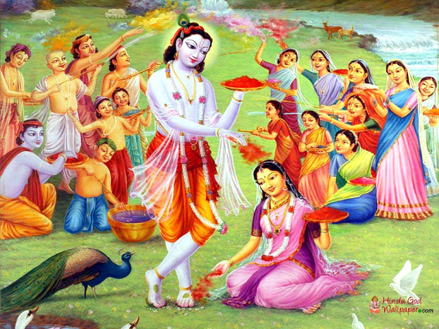 Happy holi to you and your family. Celebrate with crackers and diyas..