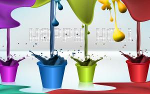 vibrant festival of colors wth joy & jubilation!Happy Holi!
