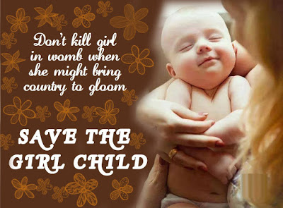 Latest Save the Girl Child quotes 2016
